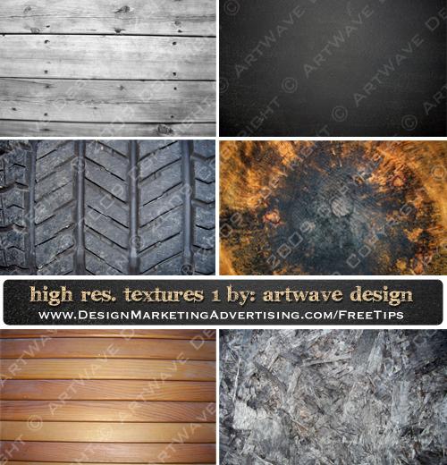 High Resolution Textures Set 1