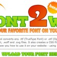 Free Online Font Converter